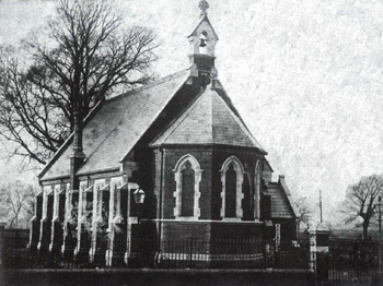All Saints Mission Church about 1890 [X451/140]